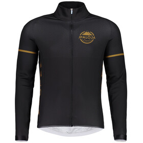Maloja PushbikersM. 1/1 Bike Jersey Longsleeve Men black